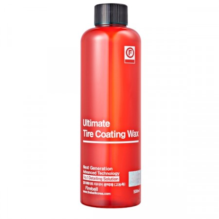 ULTIMATE TIRE COATING WAX RED (500ml)